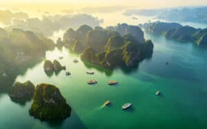 Halong Bay in Vietnam
