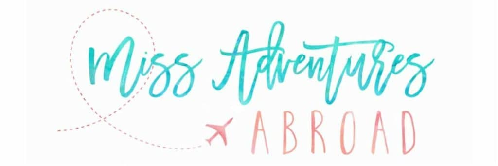 Miss Adventures Abroad - Logo