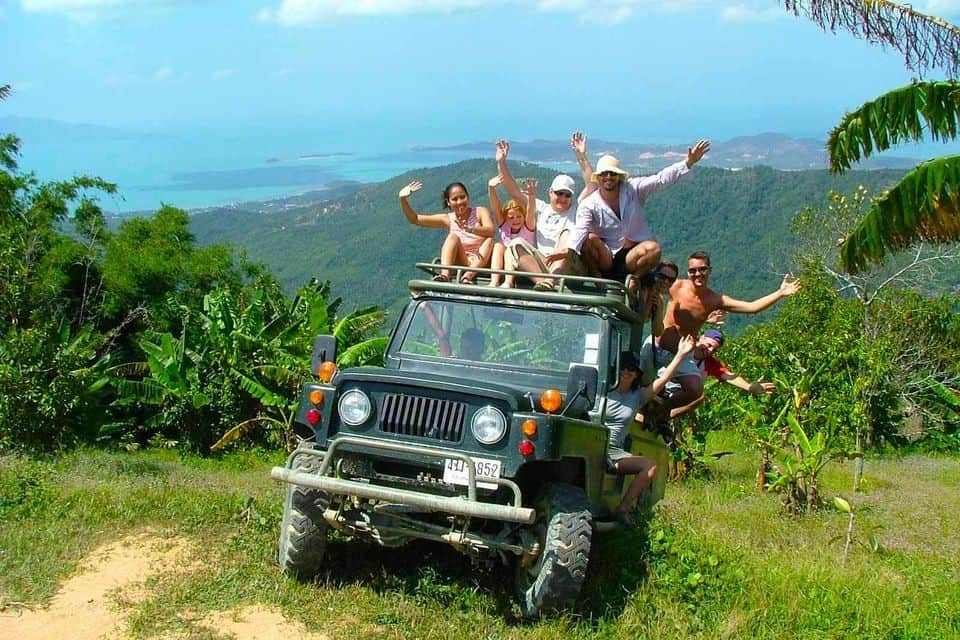 4WD Jungle Safari Tour