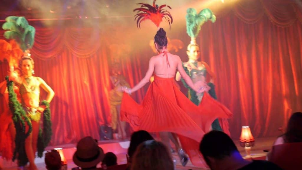 Chaweng Beach - Moulin Rouge Cabaret Show