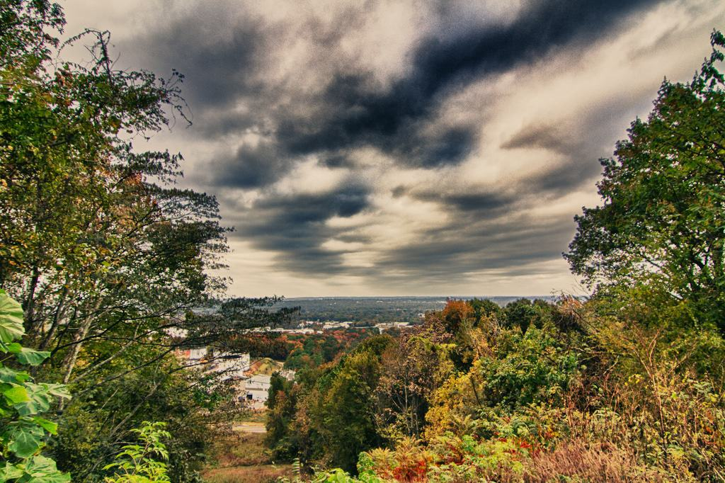 View from the hill - Red Mountain Park