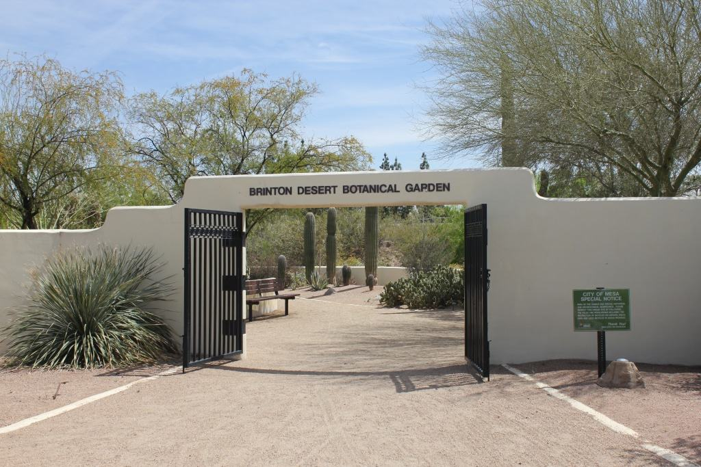 Brinton Desert Botanical Garden at Park of the Canals