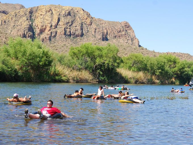 Everything You Need To Know About Salt River Tubing In