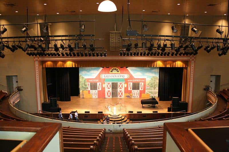 The Ryman Auditorium