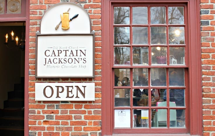 Captain Jackson's Historic Chocolate Shop, Boston