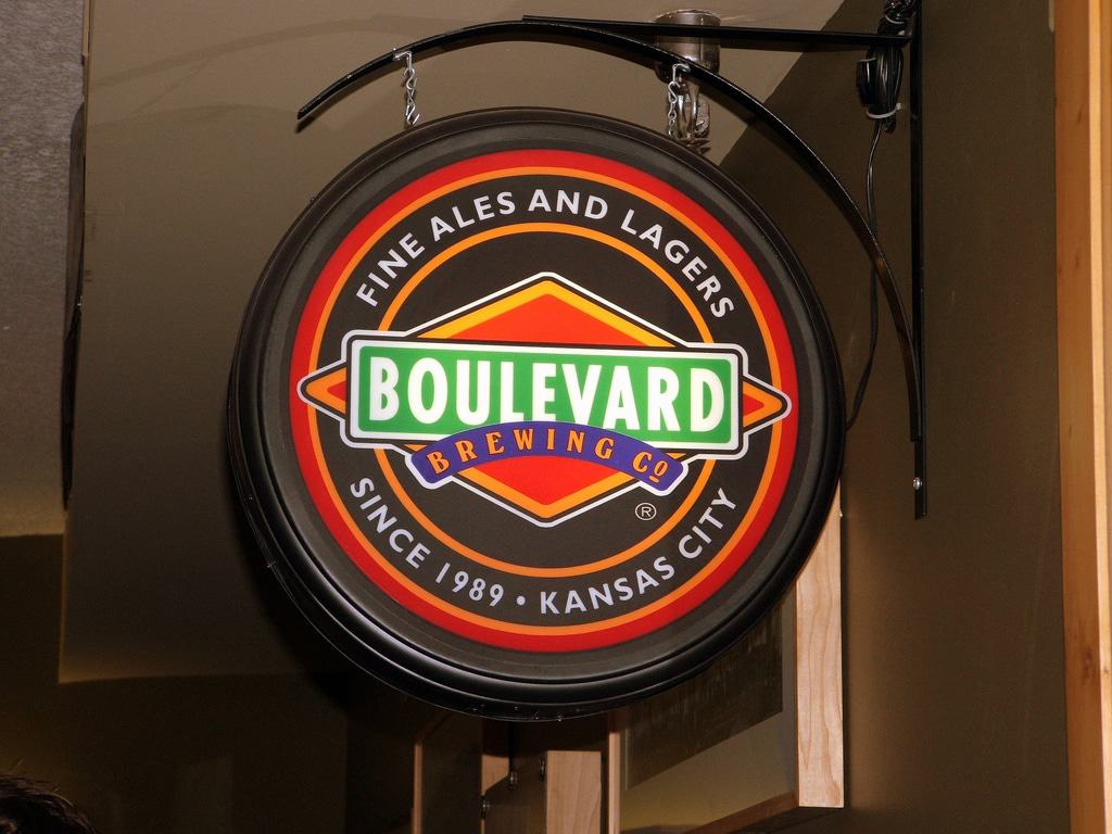 Boulevard Brewing Company Sign
