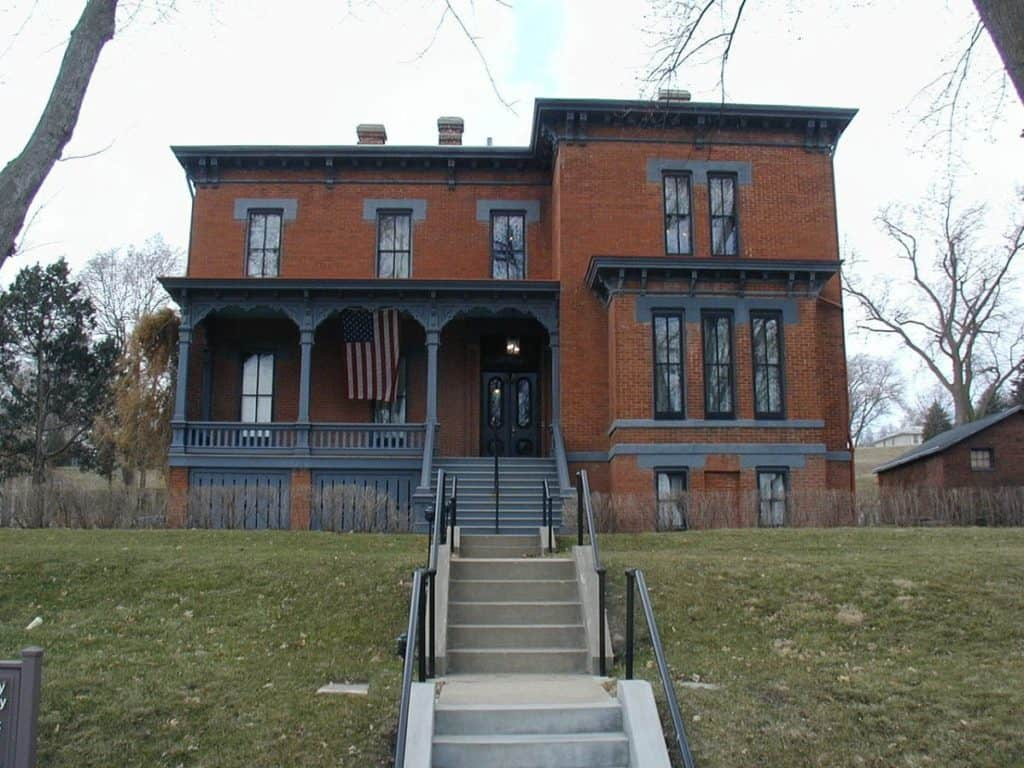 General Crook House in Fort Omaha