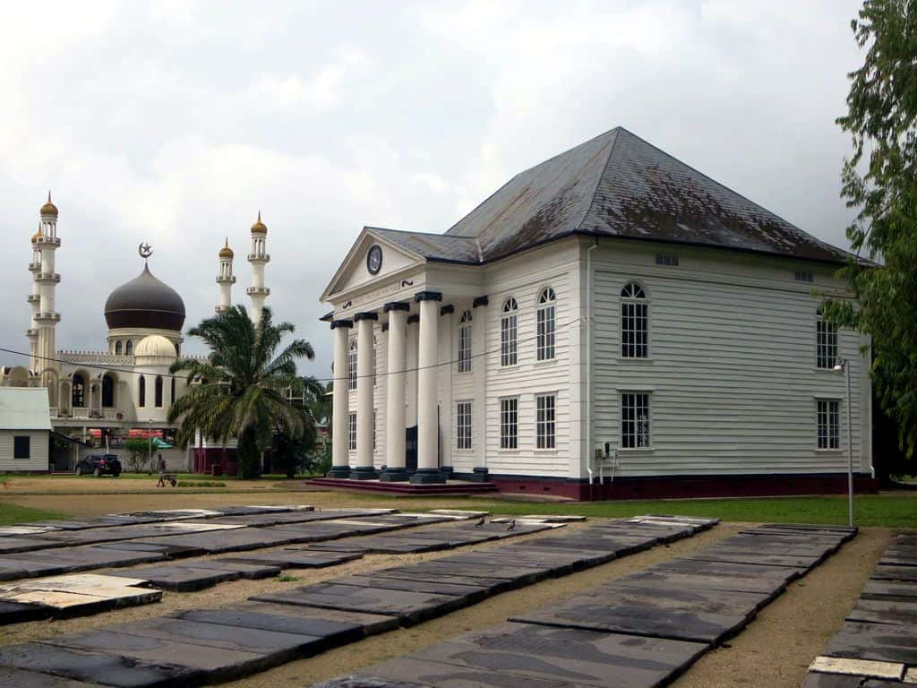 Synagogue and Mosque