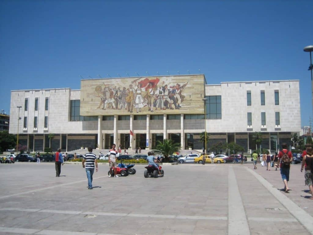 National Historic Museum, Tirana