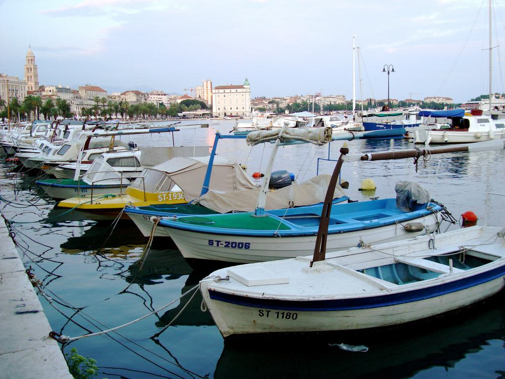 Boats in Split