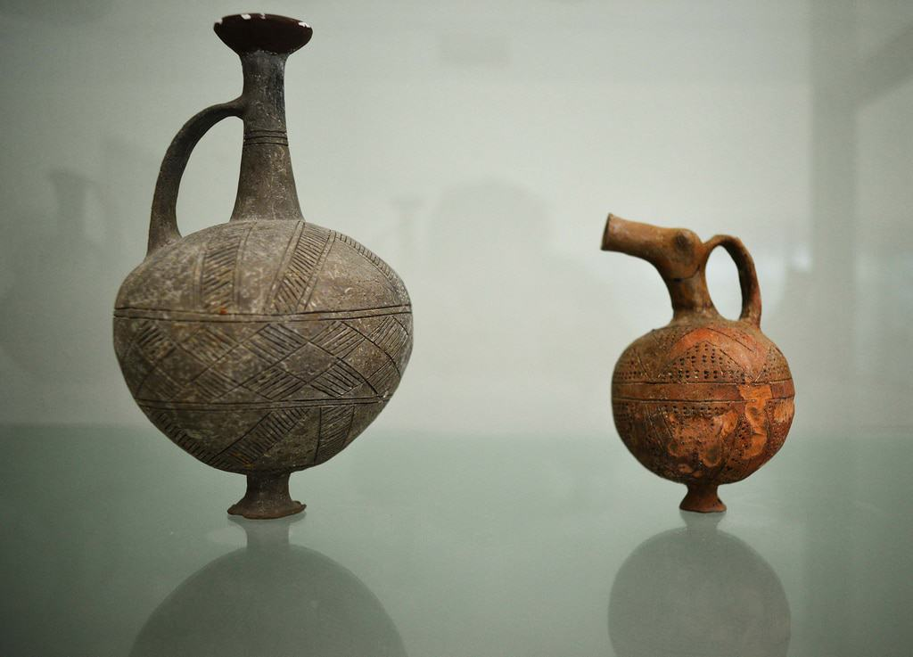 Paphos Archaeological Museum - Pottery