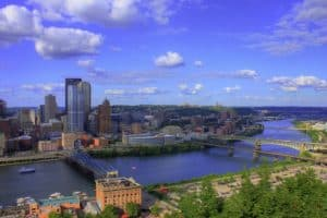 Pittsburgh - View from Mount Washington