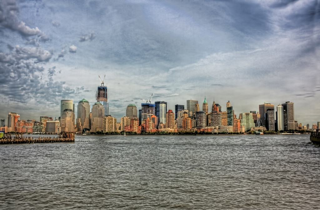 South Manhattan seen from Liberty State Park