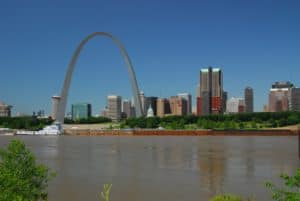 St. Louis Riverfront and the Gateway Arch