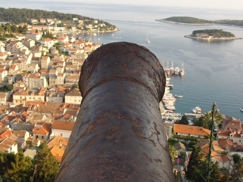 View from Spanjola Fortress