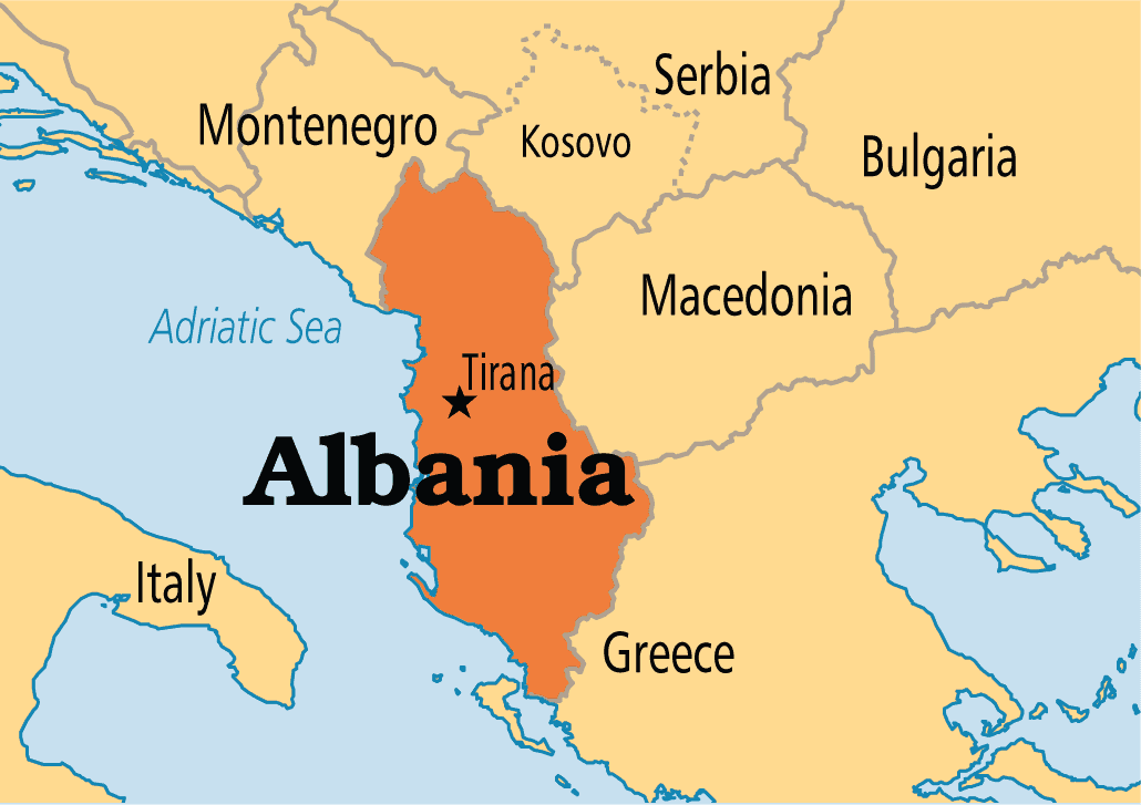 Albania On Map 15 Fun & Interesting Facts About Albania   The Crazy Tourist Albania On Map