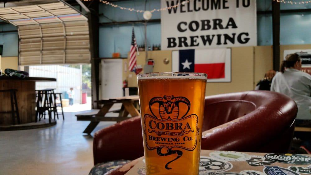 Cobra Brewing Company Lewisville