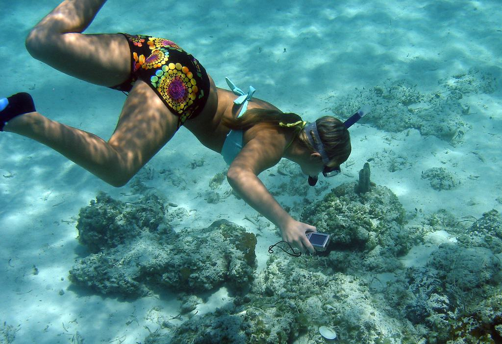 Andros, Snorkelling