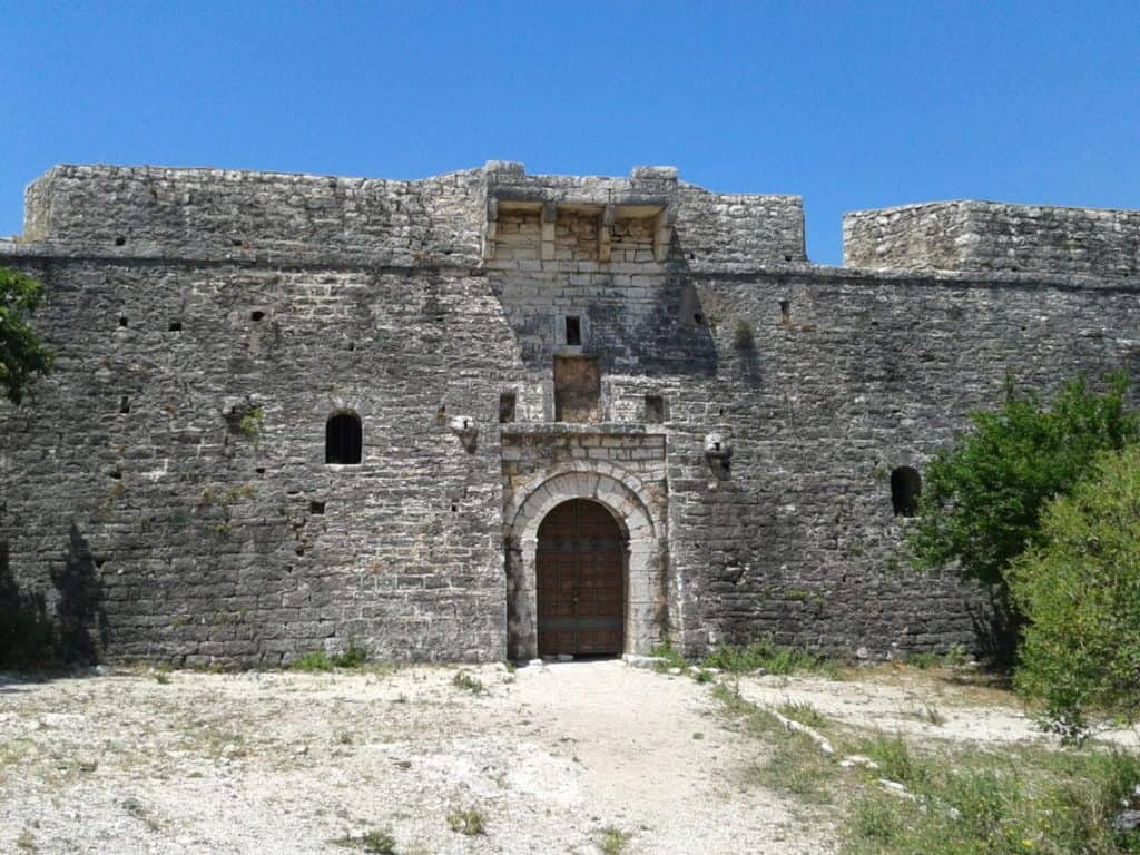Castle of Porto-Palermo