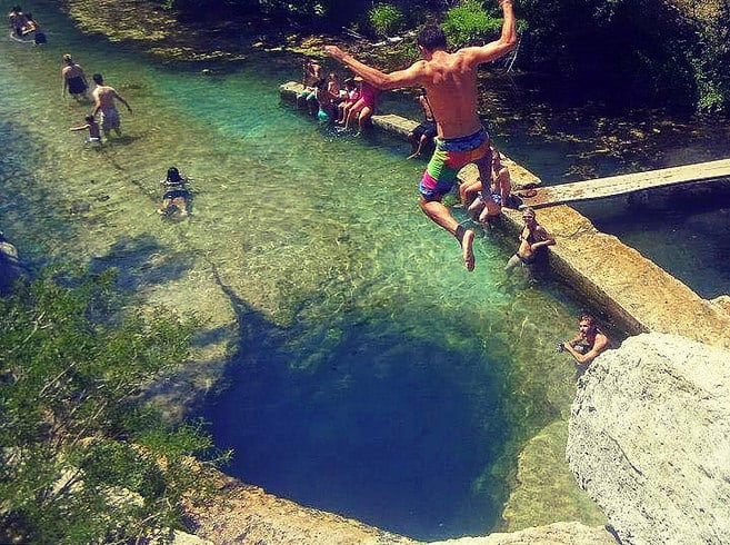 Jacobs Well, Wimberley