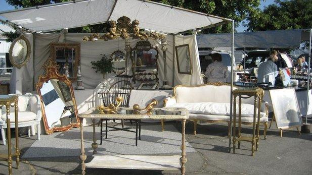 Santa Monica Airport Outdoor Antique and Collectible Market