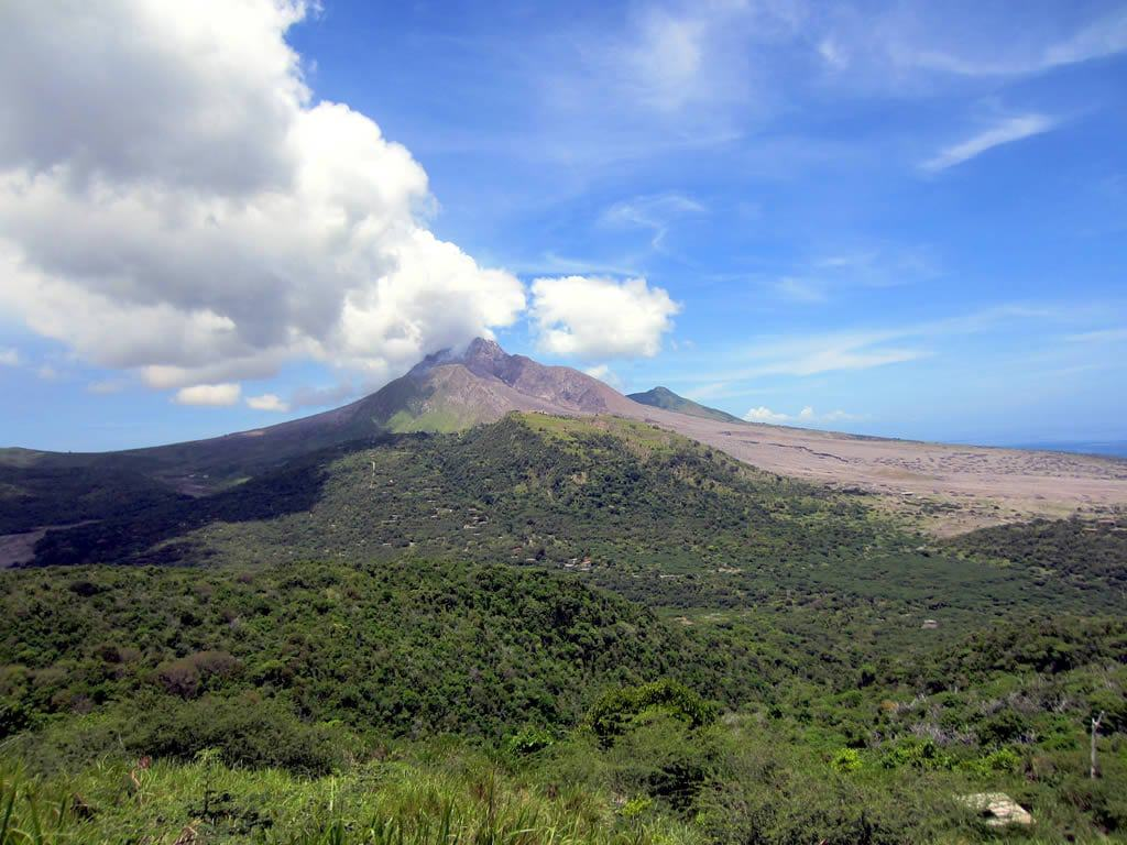 an analysis of the soufriere hills volcano in montserrat island Discover montserrat ( north america )  the soufriere hills volcano remains  continuously monitor the status of the volcano their analysis is that activity.