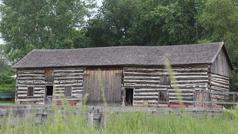 The Belgian Farmstead Horse Barn at Heritage Hill State Historical Park