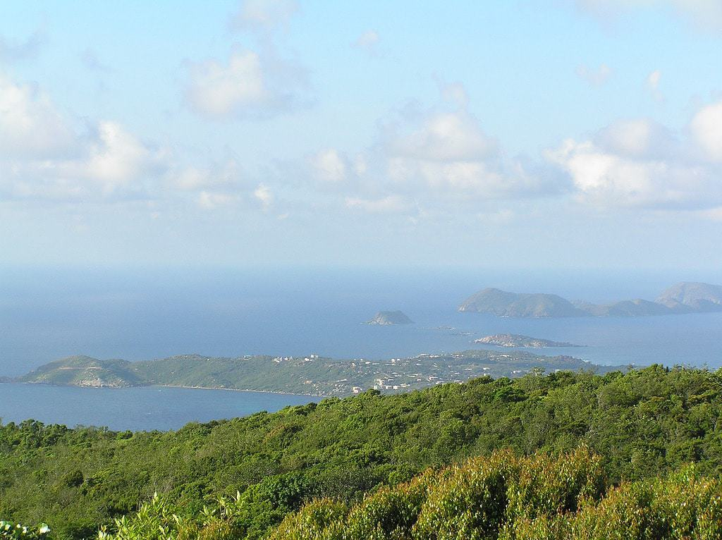 View from Gorda Peak National Park Observation Tower
