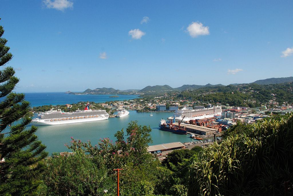 View from Morne Fortune