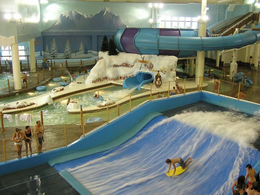 Avalanche Bay Indoor Waterpark Boyne Falls