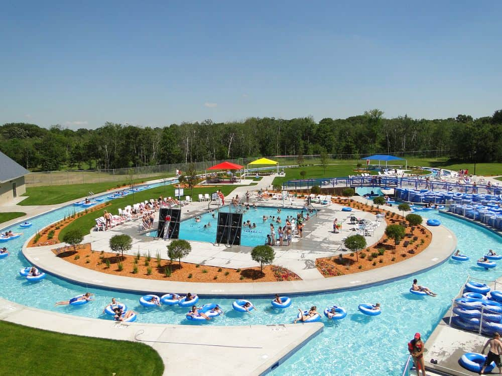 Bunker Beach Water Park Rapids