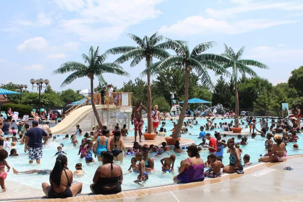 City of Gaithersburg Water Park at Bohrer Park, Gaithersburg
