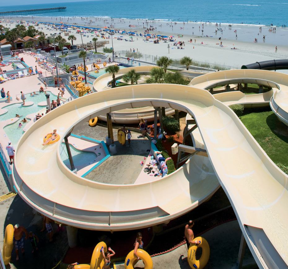Inflatable Slide North Myrtle Beach: 14 Best Water Parks In South Carolina