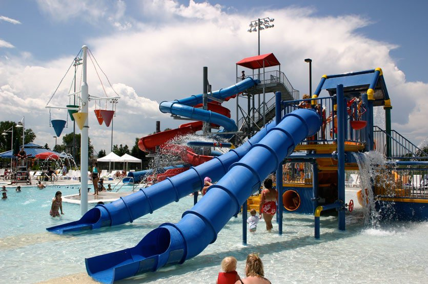 H2O'Brien Park and Pool, Parker