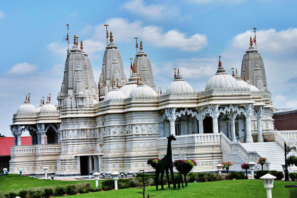 Swaminarayan Temple in Bartlett
