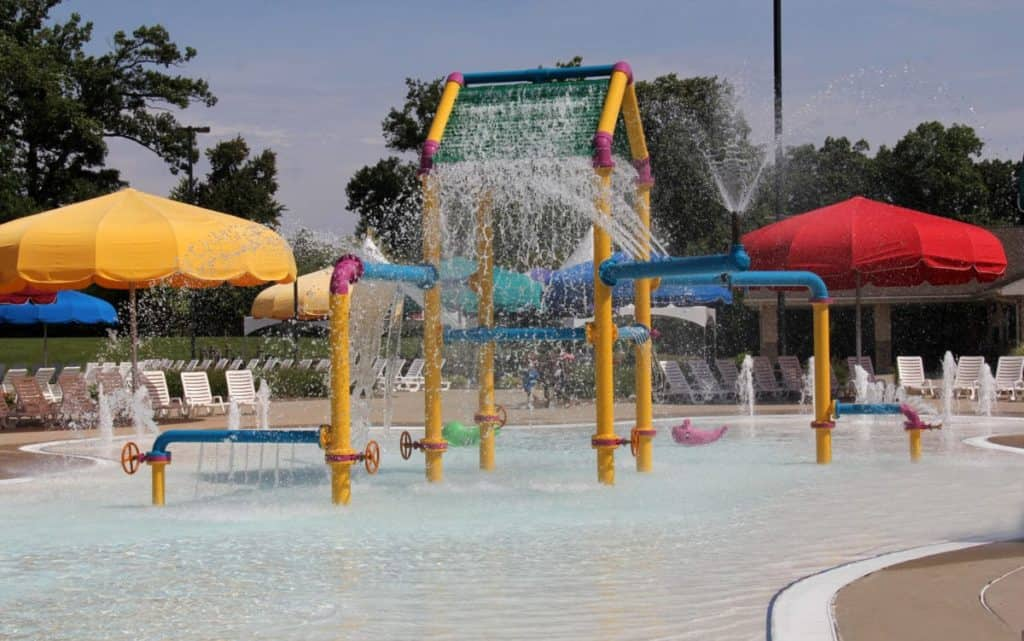 The Wayne County Family Aquatic Center At Chandler Park Detroit