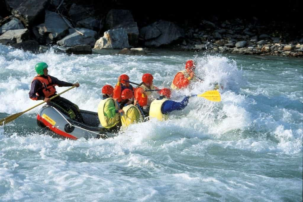 White Water Rafting in Lienz