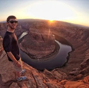 Drew at Horse Shoe Bend