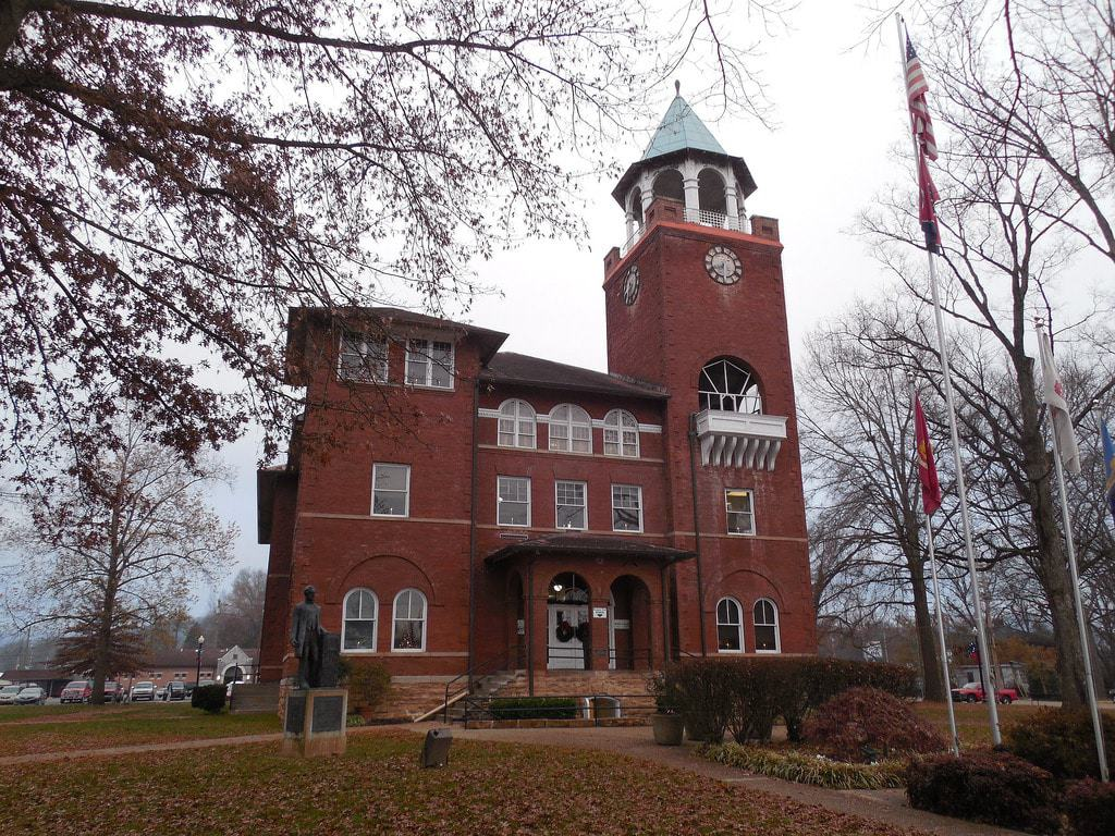 Rhea County Courthouse in Dayton, Tennessee