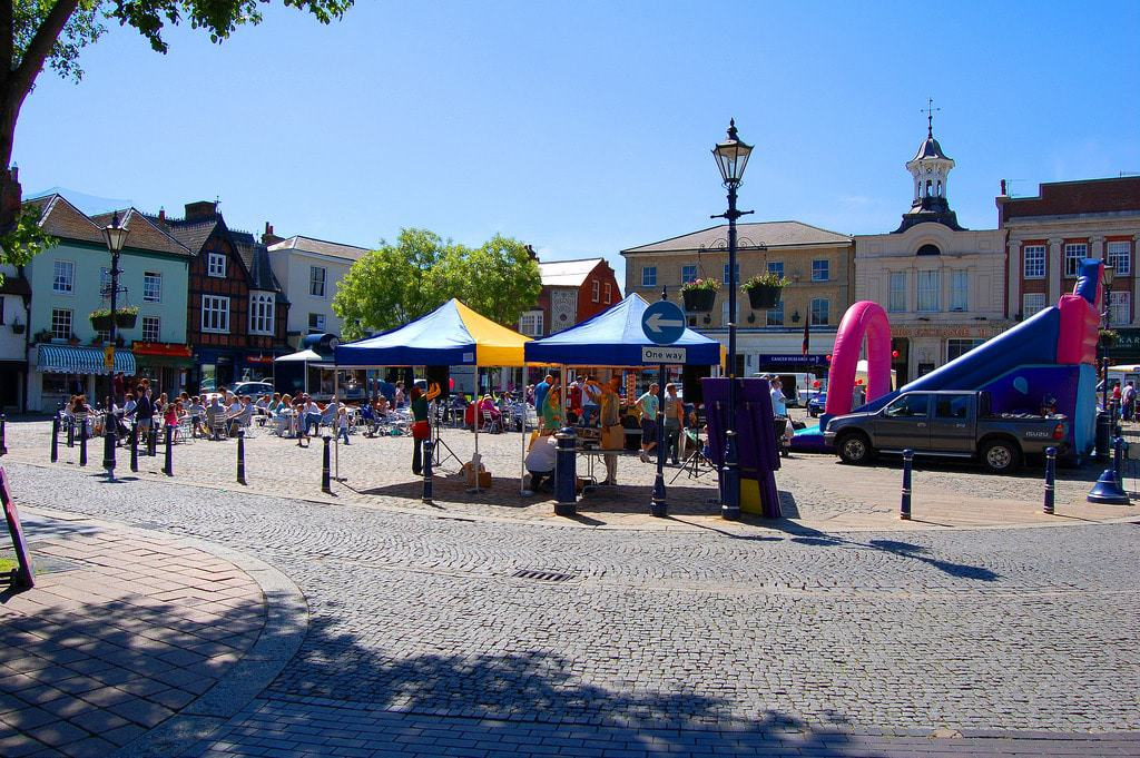 Hitchin Town Square