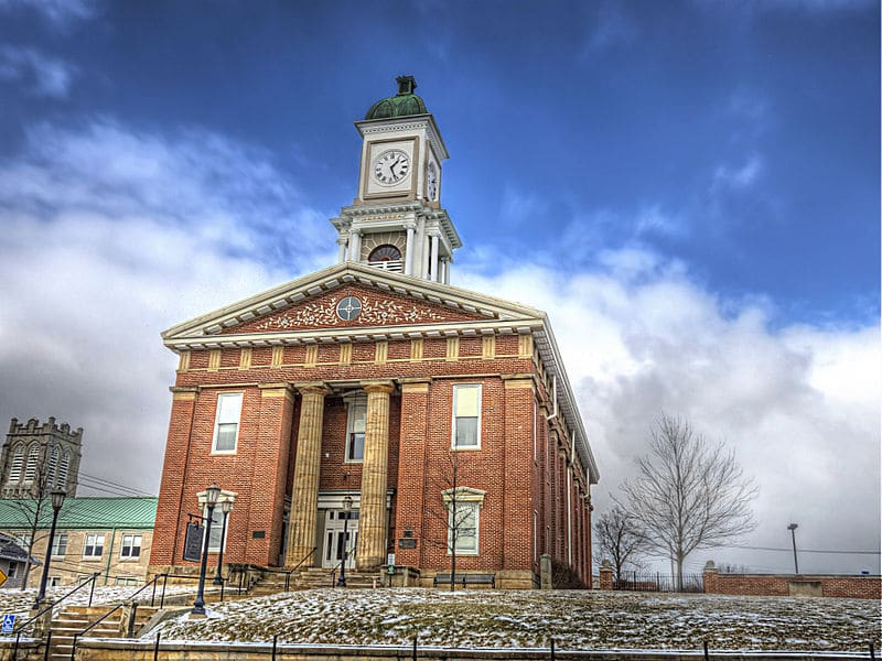 Knox County Courthouse in Mount Vernon, Ohio