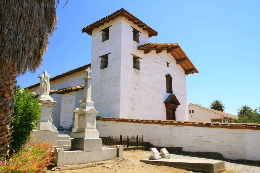 Mission San Jose and Cemetery