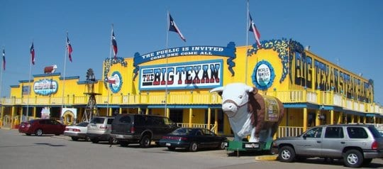 The Big Texan Steak Ranch Brewery and Hotel