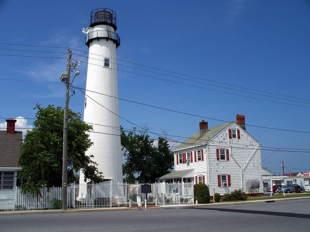The Fenwick Island Lighthouse