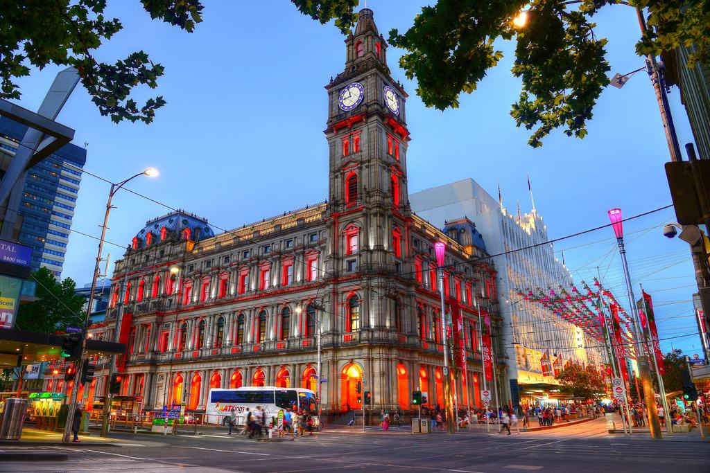 The Melbourne Government Post Office