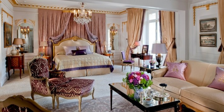 The Royal Suite, Hotel Plaza Athenee