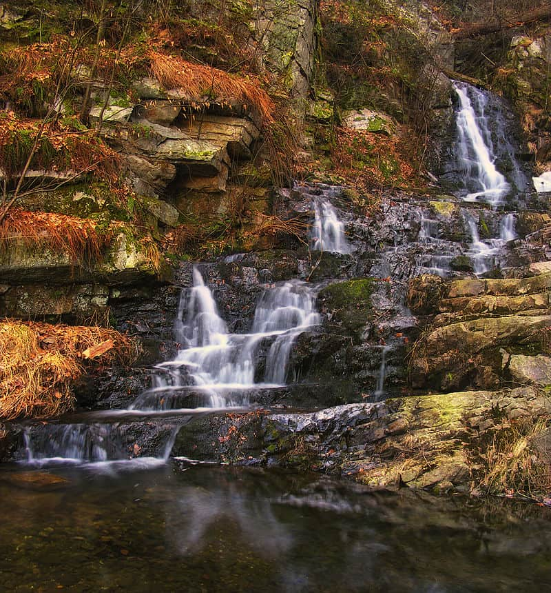 Wildcat Falls near the Susquehanna River in Hellam Township