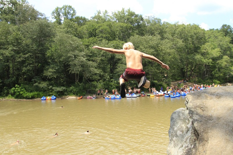 Chattahoochee Diving Rock