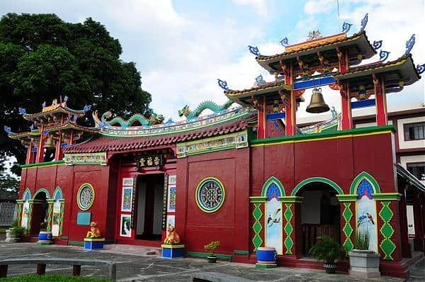 The Chong Hock Tong temple