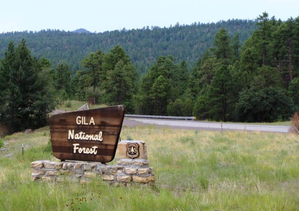 the Gila National Forest